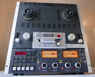 $6341.42 • Buy Studer A810 Tape Machine (3 Speed - 15ips Max) REFURBISHED AND TESTED