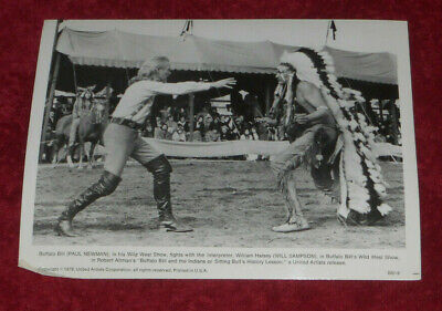 $ CDN10.48 • Buy 1976 Press Photo Paul Newman & Will Sampson In  Buffalo Bill And The Indians