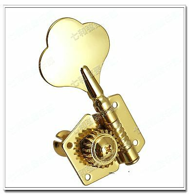 $ CDN11.86 • Buy Left Handed Bass Guitar Tuners Machine Heads Knobs Tuners Tuning Pegs Gold