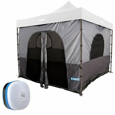 AU189 • Buy Adventure Kings Gazebo Tent Outdoor + Mini LED Magnetic Camping Lantern Light