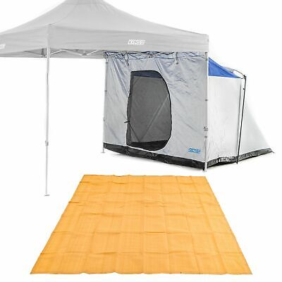 AU146.25 • Buy Adventure Kings Gazebo Hub Camping Outdoor + Mesh Flooring 3x3m Portable Folding