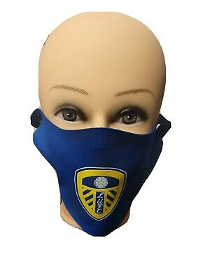 **Brand New** Leeds United & Leeds Rhinos Washable Adult Face Mask Free Postage • 4.50£