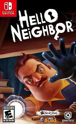AU49 • Buy Hello Neighbor Nintendo Switch Brand New