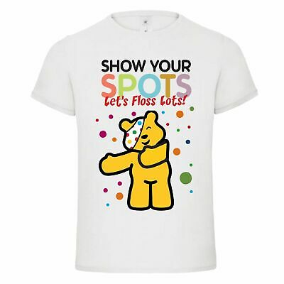 Children In Need 2020 Charity T-Shirt Unisex T-Shirts For Kids   Show Your Spots • 8.99£