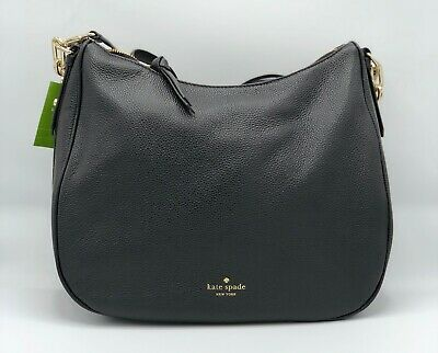$ CDN170.17 • Buy Kate Spade New York Mulberry Street Vivian Hobo Handbag Black Brand New W/ Tags