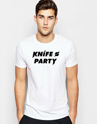 Knife Party T-shirt Dubstep Music Electro Dance Rave EDM DJ Gift Graphic Tee T • 11.49£