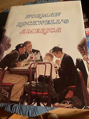 $ CDN45.41 • Buy Norman Rockwell's America Hardcover Book-Illustrated-1975-Color Coffee Table Ed.