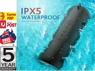 AU27.95 • Buy NEW Rechargeable Portable Wireless Bluetooth Stereo Music Waterproof Speaker
