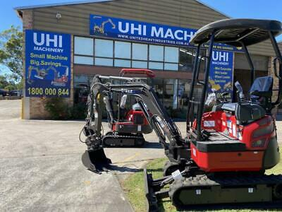 AU29900 • Buy UHI UME20 Mini Excavator Hydraulick Quick Hitach,swing Boom And Expandable Track
