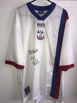 *M* SIGNED 1999/00 Crystal Palace Away Football Shirt (ks) • 39.99£