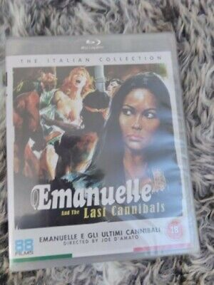 Emanuelle And The Last Cannibals (New, OOP 88 Films Blu-ray / Joe D'Amato) • 11.99£