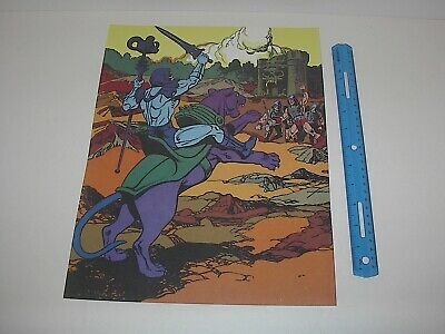 $19.99 • Buy Masters Of The Universe Skeletor And Panthor Poster Pin Up New