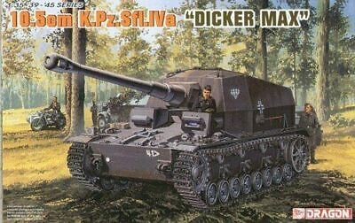 Plastic Kit Dragon Dragon 1/35 Scale German Dicker Max 10.5cm K.Pz.Sfl.IVa • 43.99£