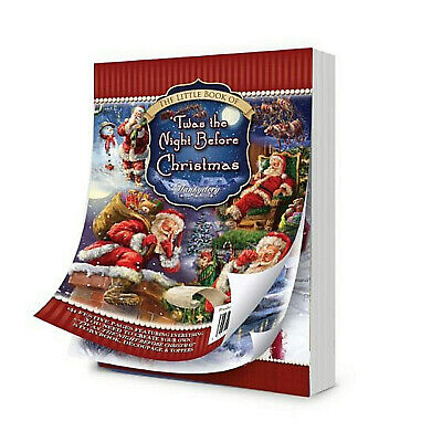 24 Sheet Set Hunkydory Little Book Of TWAS THE NIGHT BEFORE CHRISTMAS Toppers • 2.99£