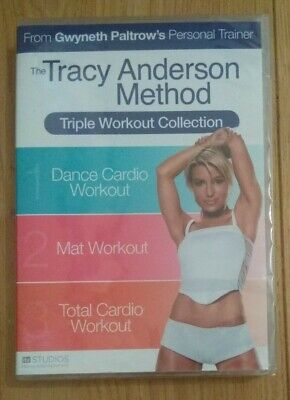 Tracy Anderson Method : Triple Workout Collection (3 X DVD Boxset) NEW & SEALED • 10.99£