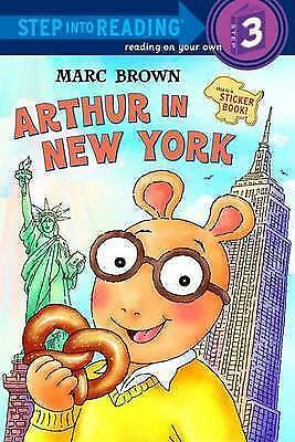 Arthur In New York (Step Into Reading) • 1.85£