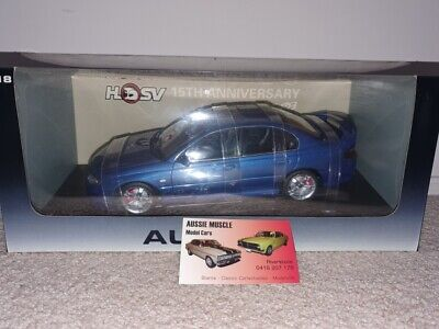 AU799.95 • Buy 1:18 Holden HSV VX Clubsport R8 Sedan 15TH Anniversary In Deft Blue