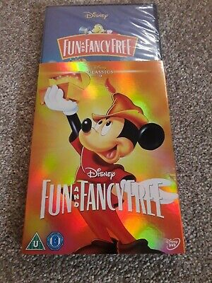 Fun And Fancy Free: Disney Classic DVD Sealed With Limited Edition O-ring Sleeve • 14.95£