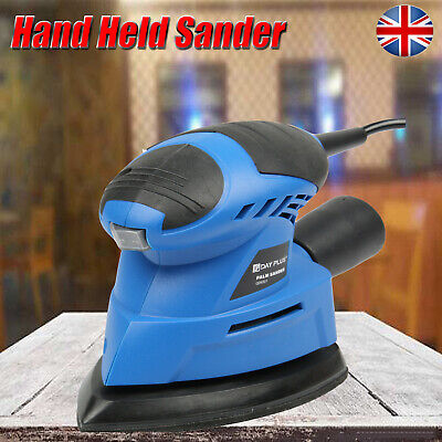 230~240V Electric Hand Held Sander Power Tool For DIY Wood Wooden Furniture • 21.90£