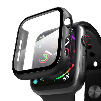 $ CDN8.51 • Buy Case For Apple Watch Series 4/5/6 And Watch SE 40mm Screen Protector Cover Black