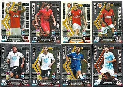 Match Attax 2013/14 Pick Your 100 Hundred Club/limited Edition From List • 2.95£