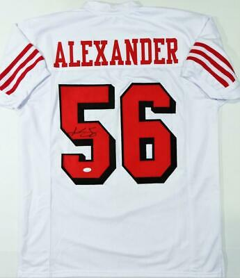 $ CDN126.09 • Buy Kwon Alexander Autographed White Color Rush Pro Style Jersey - JSA W Auth *5