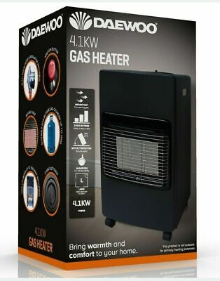 £88.59 • Buy 4.1kw Calor Gas Portable Cabinet Heater Fire Butane With Regulator & Hose New