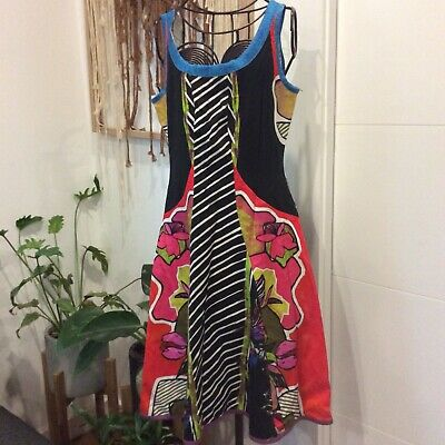AU99 • Buy Retro Designer Save The Queen Italy Dress Formal Wedding New With Tags