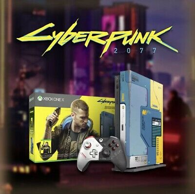 AU899 • Buy Xbox One X Cyberpunk 2077 Limited Edition Console EXTREMELY RARE BRAND NEW