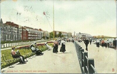 🍦 HERNE BAY. The Parade.posted 1909.  (#2057) • 1.90£