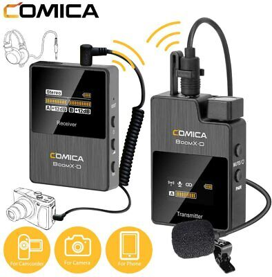 Comica Boom X-D D1 - 2.4G Wireless Microphone System For Canon, Sony, Panasonic • 155.99£