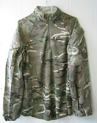 British Army MTP Under Body Armour Shirt UBAC Military Surplus • 8.99£