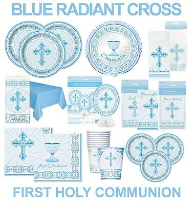First Holy Communion / Confirmation / Christening Party  Table Decorations Cross • 3.49£