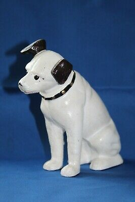 Cast Iron Small Hmv's Nipper Money Box • 12.99£