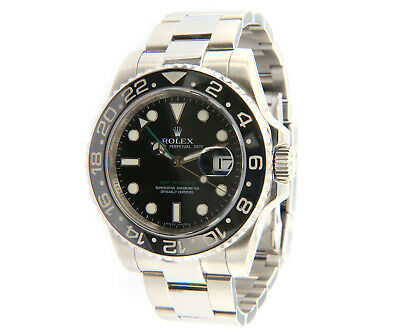 $ CDN16121.70 • Buy 2007 Rolex GMT Master II 116710, 40mm, Ceramic Bezel, Steel