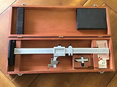 $375 • Buy Minty Starrett No. C454M Surface Gage, Scribes & Case - Hand Tool - Machinist