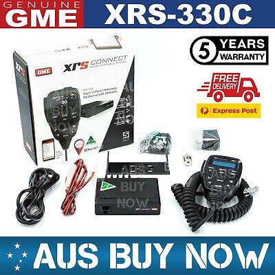 AU440 • Buy Express Gme Xrs-330c 5w 80ch Uhf Cb Two Way Compact Radio Xrs 330c Car Truck