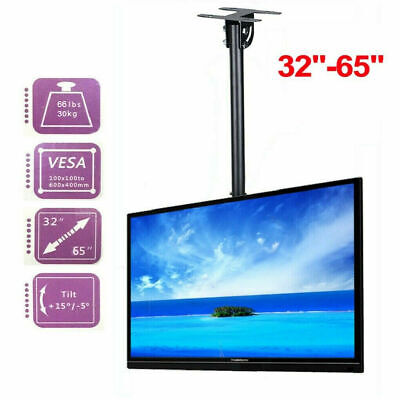 AU46.91 • Buy Adjustable Ceiling TV Wall Mount Bracket 32 -65  LED For Office Samsung LG Sony