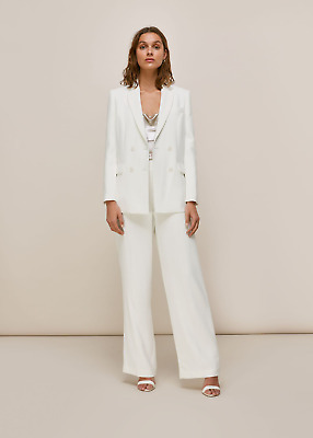 Whistles Annie Wedding Suit - UK 8/10 - Blazer And Trousers Brand New RRP £528 • 340£