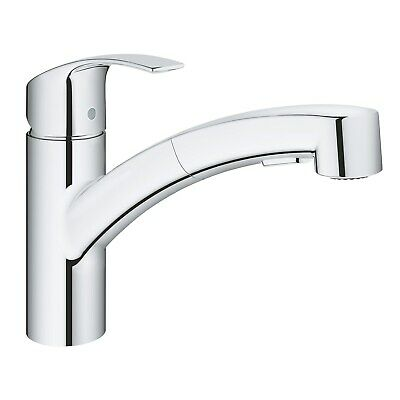 Grohe Eurosmart Kitchen Sink Mixer Tap With Pull Out Spray - 30305000 30305000 • 142.97£