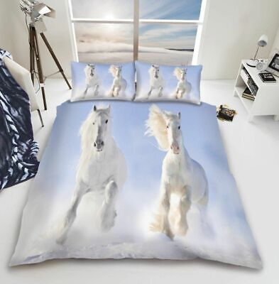 3d Animal Duvet Quilt Cover Pillow Cases Bedding Set Single Double King • 14.95£