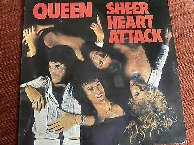 Queen - Sheer Heart Attack - EMC 3061 - Cover Only - VG+ • 6£