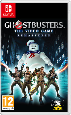 AU57 • Buy Ghostbusters The Video Game Remastered Nintendo Switch Brand New Sealed