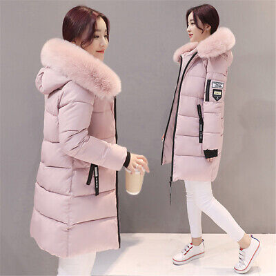 Womens Ladies Winter Chunky Hooded Puffer Bubble Parka Coats Jackets Outerwear • 17.99£