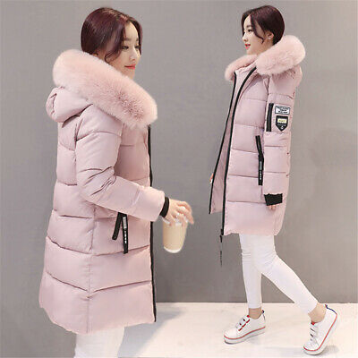 Womens Ladies Winter Chunky Hooded Puffer Bubble Parka Coats Jackets Outerwear • 23.98£
