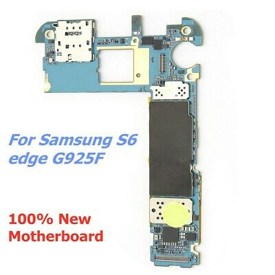 $ CDN69.23 • Buy For Samsung Galaxy S6 Edge G925F Phone Logic Motherboard Unlocked Replacement