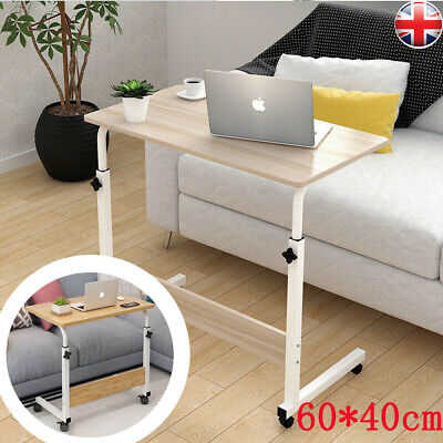 Laptop Bed Tray Table Portable Lap Desk Notebook Breakfast Tray Cup Slot UK • 13.99£