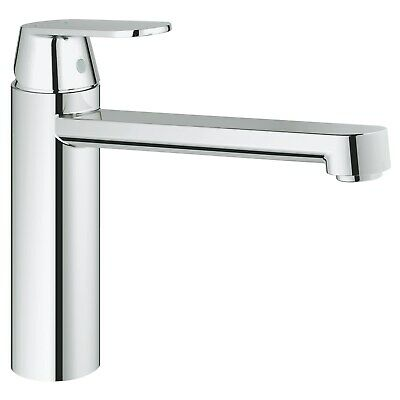 Grohe Chrome Single Lever Basin Mixer Kitchen Tap - Eurosmart 30199000 • 85.97£