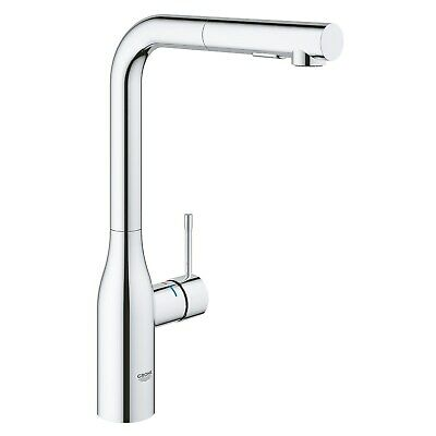 £239.96 • Buy Grohe Chrome Single Lever Pull Out Spray Mixer Kitchen Tap