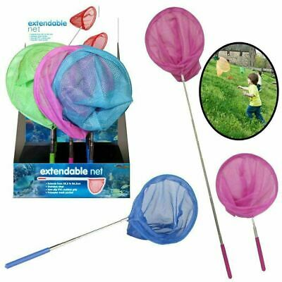 £3.29 • Buy EXTENDABLE FISHING NET Telescopic Pond Nets Sea Butterfly Insect Bug Kids Mesh